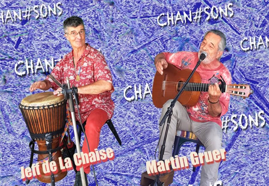 Jeff De la Chaise et Martin Gruer